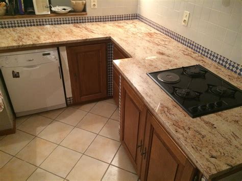 granite cuisine rénovation d 39 un plan de travail de cuisine en granit à aix