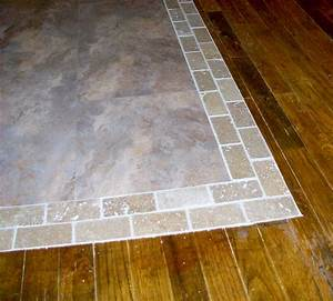 Homesteading wife wood floor to tile transition for Wood tile transition