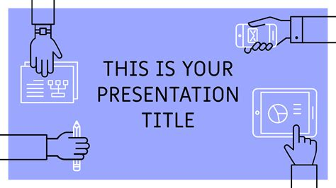powerpoint template  google  theme