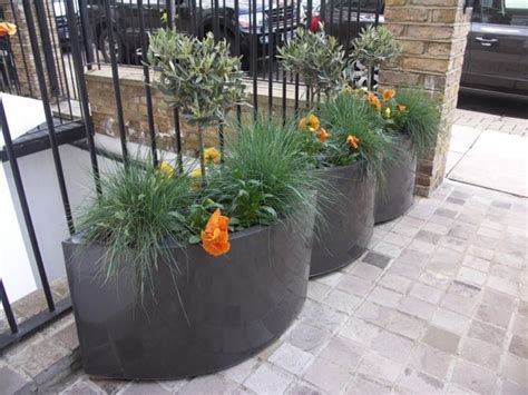 Geo Oval Fibreglass Planters From Potstore.co.uk