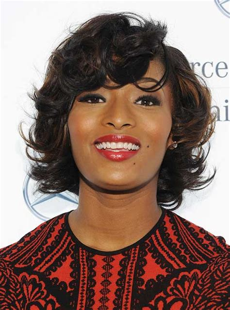 celebrity short curly hairstyles short hairstyles