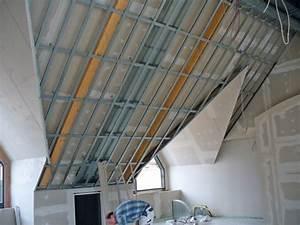 Rigips Unterkonstruktion Dachschräge : unterkonstruktion dachschr ge rigips h user immobilien bau ~ Lizthompson.info Haus und Dekorationen
