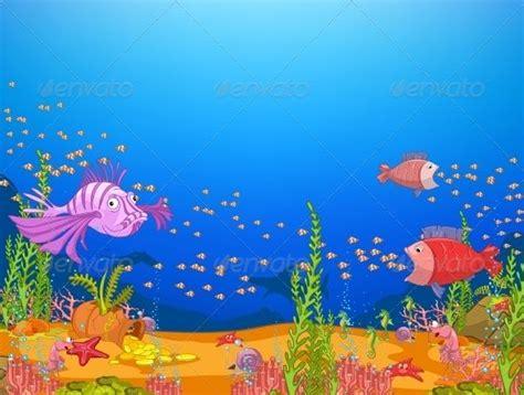 Cartoon Ocean Wallpaper