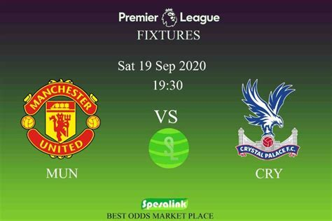 SpesaLink EPL H2H Updates | Man United vs Crystal Palace ...