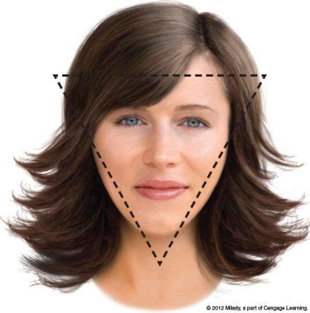 hair styles for best haircuts for inverted triangle faces search 6419