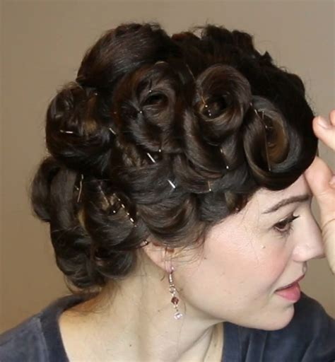 Best Pin Curl Tutorial Heatless Life and DIY
