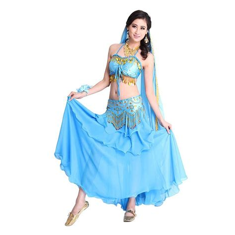 Women Belly Dance Indian Dance Costume Piece Dancing Costume Sets for Party | eBay