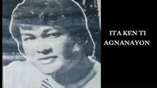 Eb felt if i met him, i'd act like a fool.i'd be a. Chords for Romeo Quiñones Ita Ken Ki Agnanayon (ilocano song)