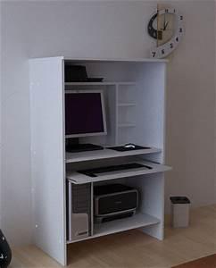 Pc Schrank Weiß : computerschrank pc b ro schrank wei ohne t ren ebay ~ Frokenaadalensverden.com Haus und Dekorationen