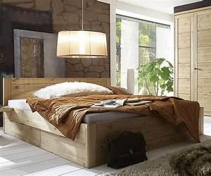 Bett 180x200 Massivholz Komforthöhe : massivholz bett 180x200 4 schubladen komforth he xl schubladenbett kiefer natur ~ Bigdaddyawards.com Haus und Dekorationen