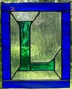 1000 images about stained glass letters numbers on With stained glass letters