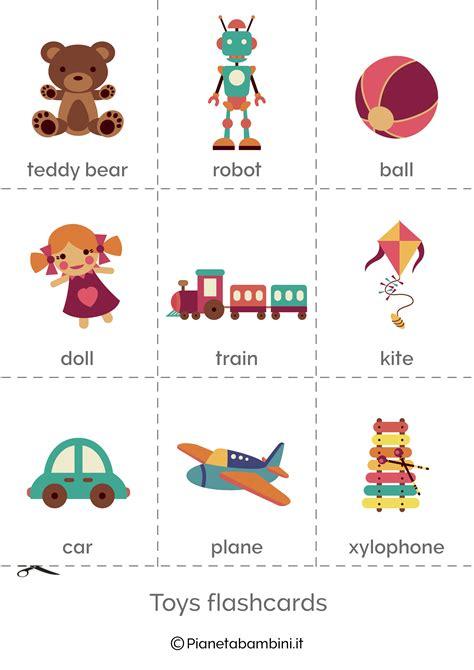 In Inglese by Giocattoli In Inglese Esercizi Per La Scuola Primaria