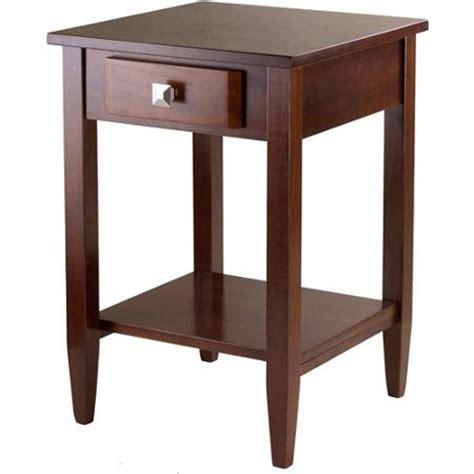 Living Room End Tables Walmart richmond end table antique walnut walmart