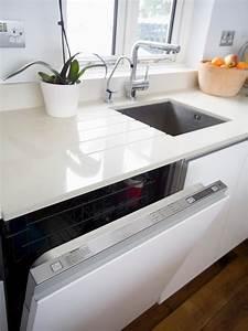 White Granite Countertops | HGTV