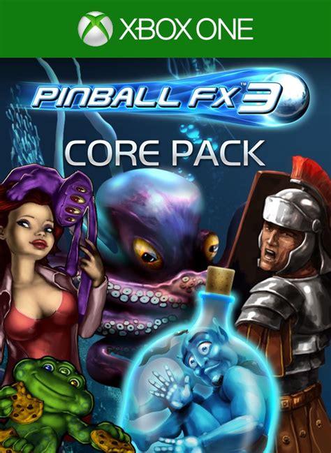 fx3 pinball core collection xbox type zen studios