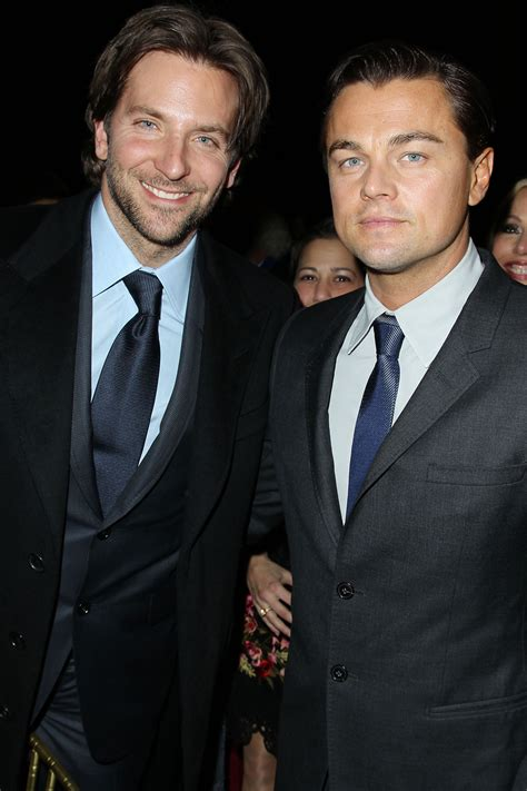 Leonardo Dicaprio And Bradley Cooper Show Exactly How A