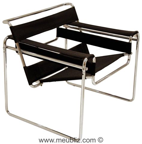 fauteuil b3 171 wassily 187 structure tubulaire innovante