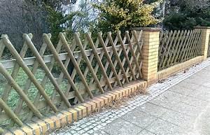 Welches Holz Für Gartenzaun : der gartenzaun als blickfang ~ Lizthompson.info Haus und Dekorationen