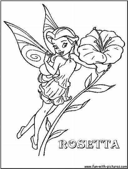 Coloring Pages Disney Fairies Printable Friends Adult