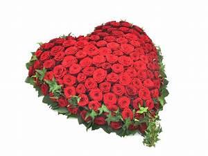 Herz Mit Blumen : herz mit roten rosen f tschl blumen wien g rtnerei wien trauerfloristik kr nze buketts ~ Frokenaadalensverden.com Haus und Dekorationen
