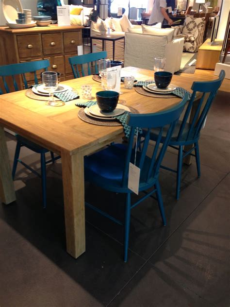 turquoise kitchen chairs crate  barrel willa peacock