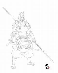 Samurai Line Work by Ronin-ink on DeviantArt