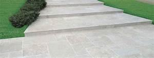 Carrelage Clipsable Exterieur : carrelage ext rieur travertin en pierre naturelle pour ~ Premium-room.com Idées de Décoration