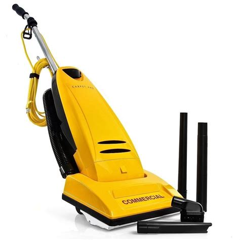 carpet pro cpu  upright commercial vacuum  tools