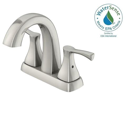 Glacier Bay Faucet Cartridge Assembly by Glacier Bay 4 In Centerset 2 Handle High Arc Bathroom