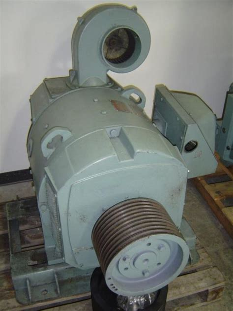 Second Electric Motors by General Electric 75hp Dc Motor Used Second