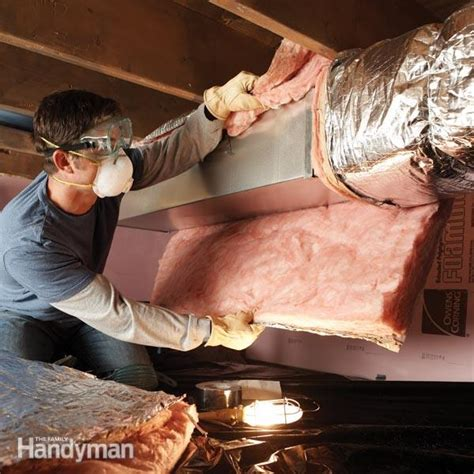 save money  insulating crawl space ducts  family