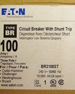 Eaton Cutler Hammer Brst Pole Amp Type