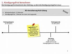 Stichtag Berechnen : kfz versicherung k ndigen ~ Themetempest.com Abrechnung