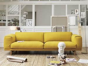 buy the muuto rest three seater sofa at nestcouk With canape cuir loft