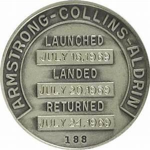 Apollo 11 Flown Robbins Silver Medallion