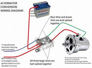Wire Alternator Conversion Wiring Diagram
