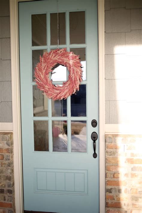ideas  aqua front doors  pinterest aqua