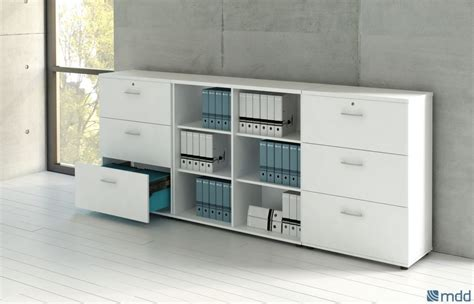 meuble de rangement bas aménagement de bureaux pour