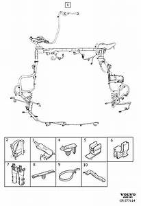 Volvo S60 Cross Country Cable Harness Duct  Xenon  Engine
