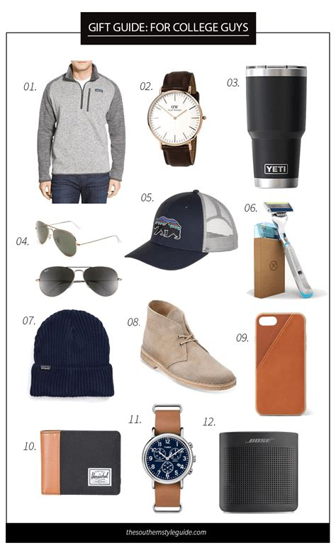 christmas gift guides for college men the southern style guide a carolina based style written by cristin cooper