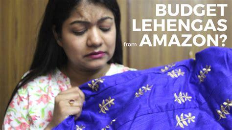 Amazon Budget Lehenga Haul & Review  The Indian Beauty Blog