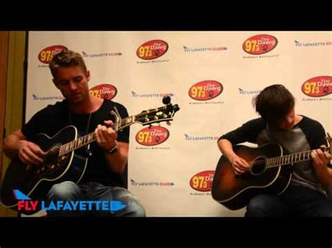 Brett Young  'in Case You Didn't Know'  Live In The
