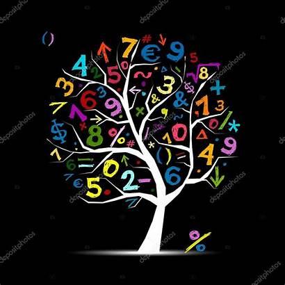 Math Maths Symbols Tree Mathematics Vector Creative