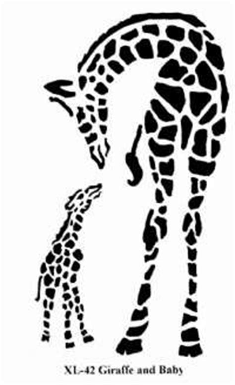 baby  mommy giraffe clipart outline clipground