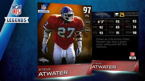 legends marshall faulk  steve atwater news muthead