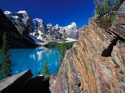 bureaux valle all places moraine lake banff national park canada