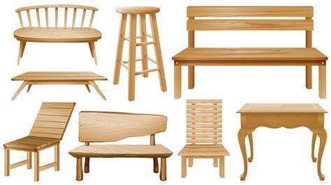 designs  wooden chairs   vectors