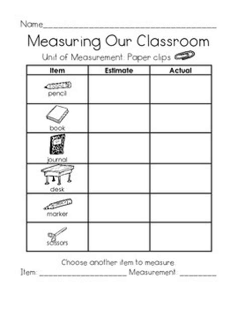 measuring our classroom using nonstandard units by just me in first grade