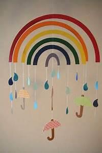 Türschild Kinderzimmer Basteln : regenbogenmobile birke pinterest ~ Orissabook.com Haus und Dekorationen