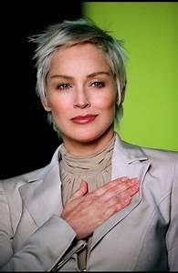 Coupe Courte Femme Cheveux Gris : quelle coupe pour cheveux poivre et sel ou cheveux blancs ~ Melissatoandfro.com Idées de Décoration